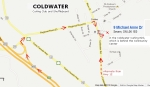 Map - Coldwater