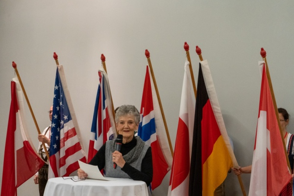 Myrna Bilton, ISA President